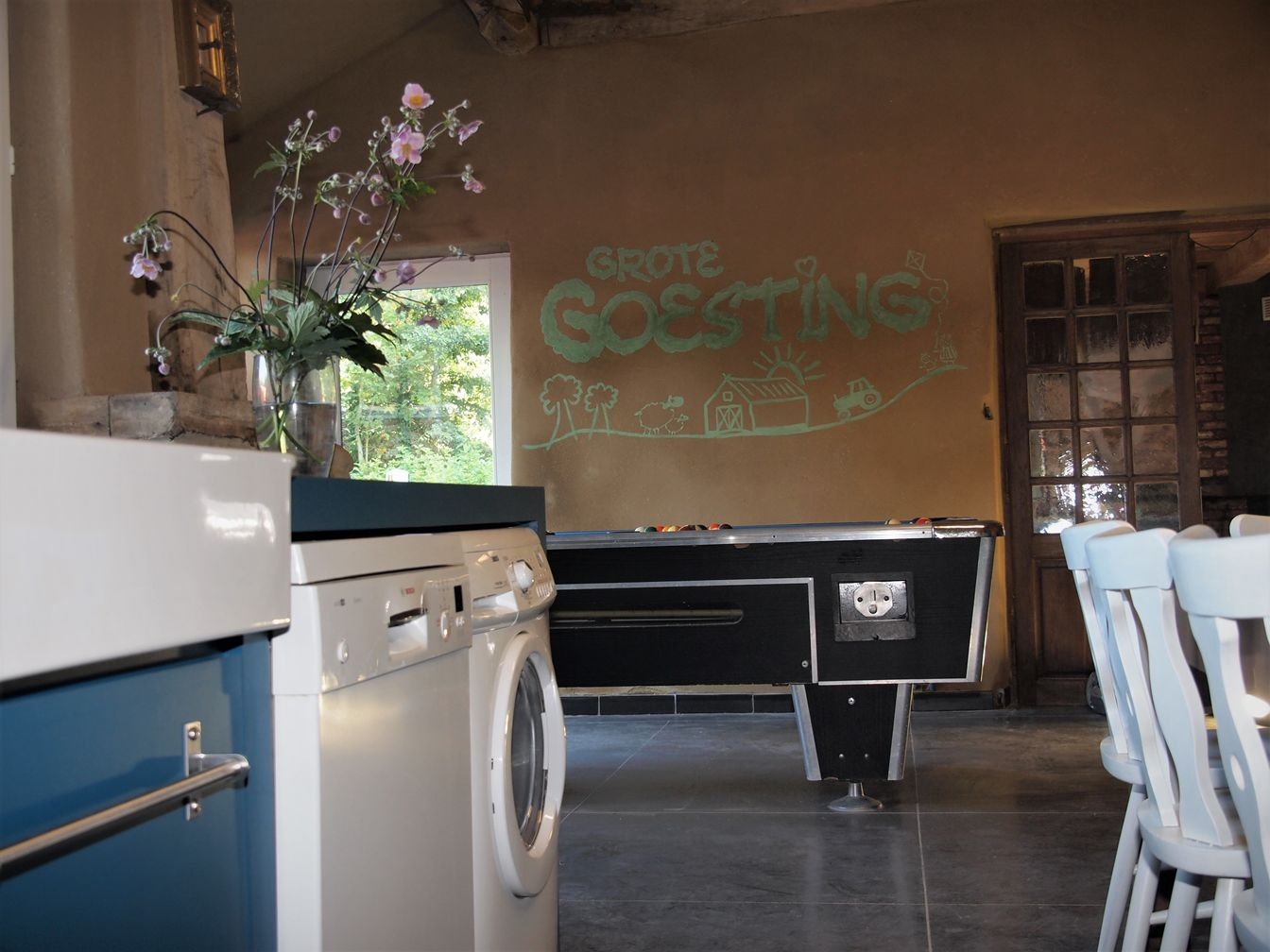 Wasmaschine -Afwasmaschine